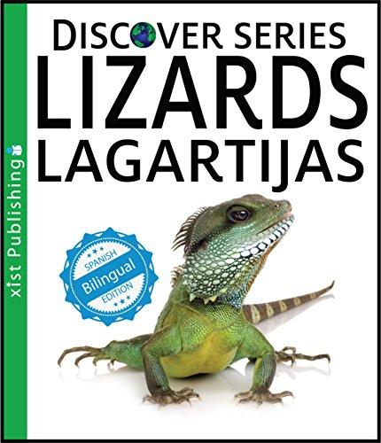Lizards / Lagartijas (Xist Kids Bilingual Spanish English) (English Edition)