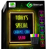 Green Light LED Message Writing Board with 8...