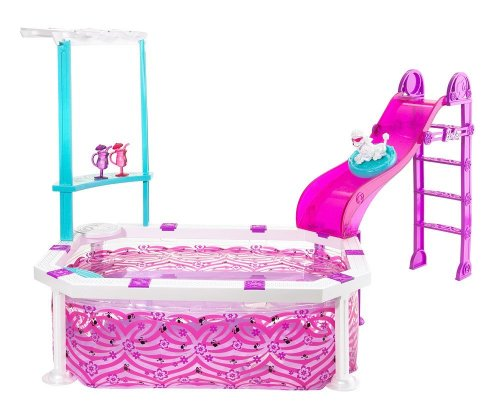 Mattel - R4206-0 - Barbie - Piscine Glam