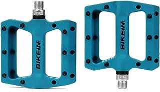 BIKEIN PRO Mountain Bike Pedals Platform Flat Pedal Sealed Bearing 9/16