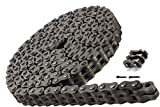 Jeremywell BL634 Leaf Chain 10 Feet for Forklift Masts,Hoisting with 1 Connecting Link