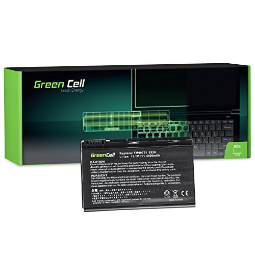 Green Cell® Standard Serie GRAPE32 Batería para Acer Extensa 5100 5210 5220...