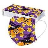 20 pezzi Halloween 𝓶ascherine per bambini Carino bambini face Bandane per bambini 3 str...