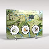 Winnie the Pooh 2020 50p 3 Coin Collection and Display