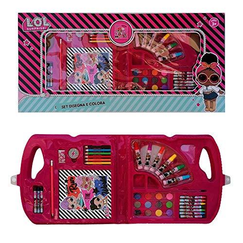 MCM LOL19801 - Maletín de colores Surprise de 30 piezas en caja de regalo para el tiempo libre de niña