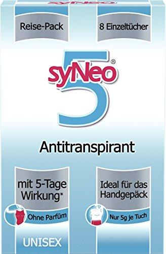 syNeo 5 Antitranspirant Reise-Packung Unisex, 1er Pack (8 x 2,5ml)