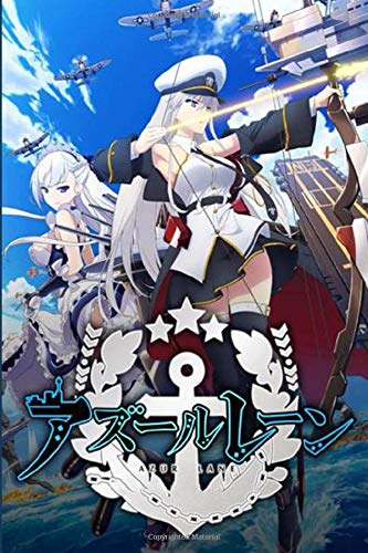 AZUR LANE: Japan Japanese Anime, Blank lined, Composition Book for Girls Teens Kids Journal College Diary and Journals