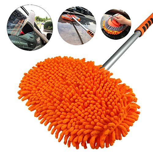 AgiiMan Car Wash Brush with Long Handle