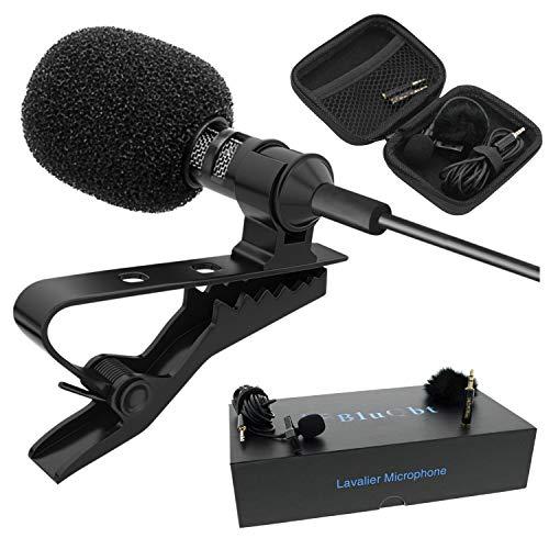 BluQbt Lavalier Lapel iPhone Microphone...