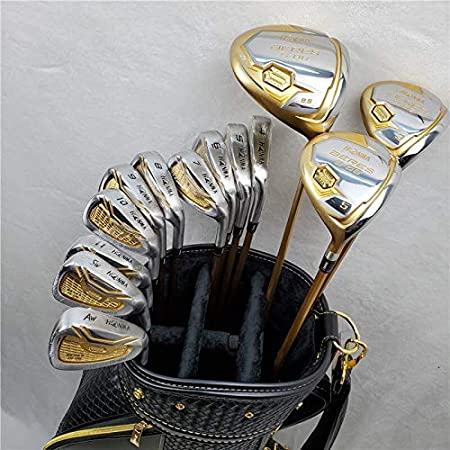 YDL Nuevo HONMA S-06 Set De Golf para Hombres Juego De Golf Woods + Golf Irons Set + Golf Putters