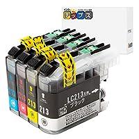 インクのチップス ブラザー用 LC213-4PK 互換インク 4色セット