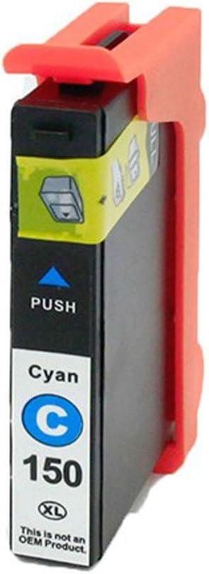 Monoprice 111123 MPI Compatible Lexmark 150XLC (14n1615/14N1642) Inkjet - Cyan
