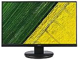Monitor LED Acer (VGA, DVI, tempo di risposta 5ms), nero lucido nero nero WQHD, IPS