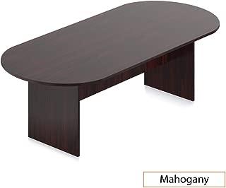 GOF 6FT, 8FT, 10FT Conference Table Chair (G11776B) Set, Cherry, Espresso, Mahogany, Walnut (8ft, Mahogany)