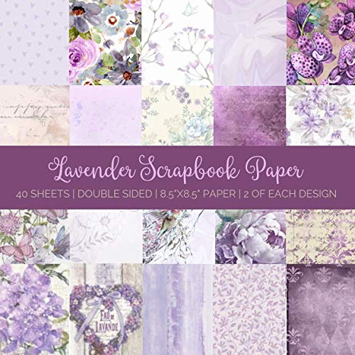 Compare Textbook Prices for Lavender Scrapbook Paper: Double Sided Craft Paper Pad Serene Scrapbooking Supplies  ISBN 9798709682115 by Archer, Allegra