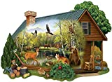 Cabin in the Wild is a 750 piece jigsaw puzzle designed by Thomas Wood. Our Jigsaw Puzzles are made with recycled cardboard. Die-cut puzzle pieces are easy to handle - and no two are alike. Our 750 Piece Puzzles are exciting and challenging to put to...