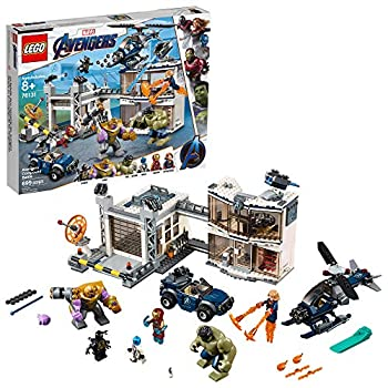 LEGO Marvel Avengers Compound Battle 76131 Building Set Includes Toy Car Helicopter and Popular Avengers Characters Iron Man Thanos and More  699 Pieces