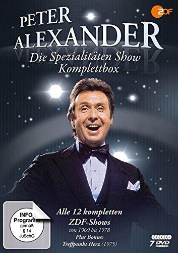 Peter Alexander: Die Spezialitäten Show - Komplettbox [7 DVDs]
