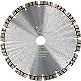 Premium Diamant-Trennscheibe 180 mm x 22,23mm Laser Beton-Scheibe für Trennschleifer Motorflex Fugenschneider Stein-Säge TURBO für Beton Stahlbeton Universal 180mm