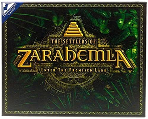 The Settlers of Zarahemla Board Game by Inspiration Games
