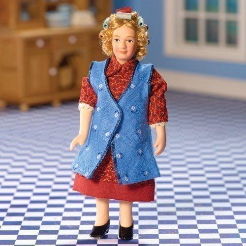 Dolls House 5782 Poupée Grand-Mère Granny Enid 1:12 pour Maison de Poupée