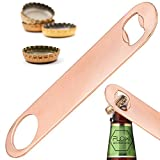 Heavy Duty 18cm Copper BAR Blade Large Bottle Opener - Professional Barman Flair Bar Blade Cocktail Tool from FLOW Barware