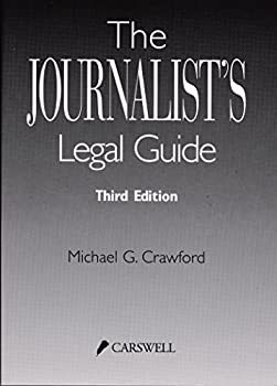 Paperback The Journalist's Legal Guide Book