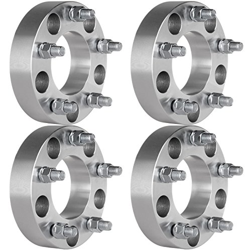 ECCPP 4X 5x135 Wheel Spacers 5 Lug 1.5' 5x135mm to 5x135mm for F-ord Expedition F150 for Lincoln Navigator Wheel Spacer with 14x2 Studs