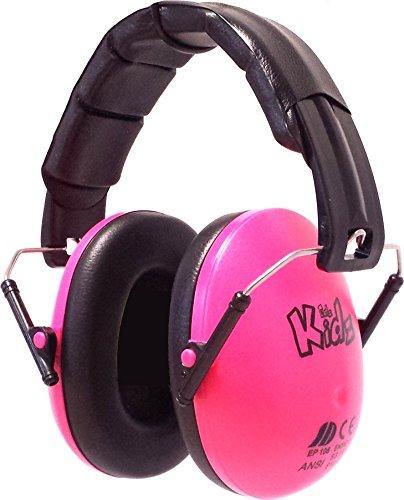 Edz Kidz Kinder Ohr Verteidiger. Ohrenschützer für Kleinkinder und Jugendliche (rosa)