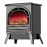 XIANGAI Calefactor Fuego eléctrico 3D de simulación de Llama Chimenea Desmontable Calentador incrustado Chimenea eléctrica se Puede Utilizar for el hogar y el Fuego officeelectric