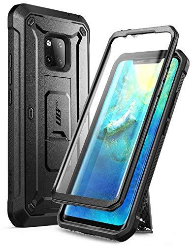 SUPCASE Cover Huawei Mate 20 PRO, Custodia Protettiva Rigida Protezione 360 Gradi [Unicorn Beetle PRO Series] Pellicola Integrata e Antiurto Bumper [Kickstand] Rugged Case per Huawei Mate20 PRO, Nero