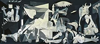 High Quality Polyster Canvas ,the Replica Art DecorativeCanvas Prints Of Oil Painting 'Pablo Picasso-Guernica,1937', 24x54 Inch / 61x137 Cm Is Best For Game Room Decoration And Home Decor And Gifts