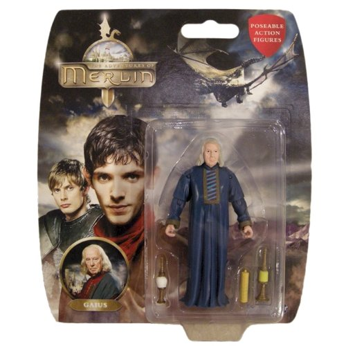 Figurine Des Aventures De Merlin, Gaius