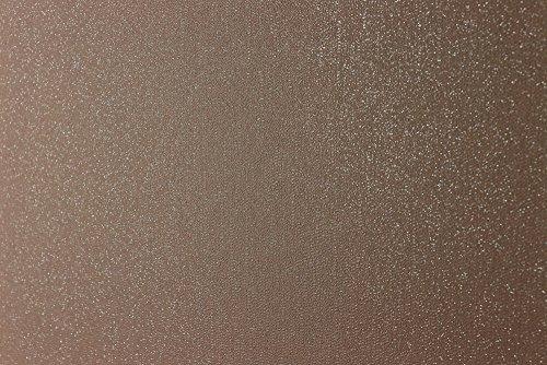 Glitterati Kleine Beads Uni Glitzer Vinyl Tapete, bronze, Full Roll