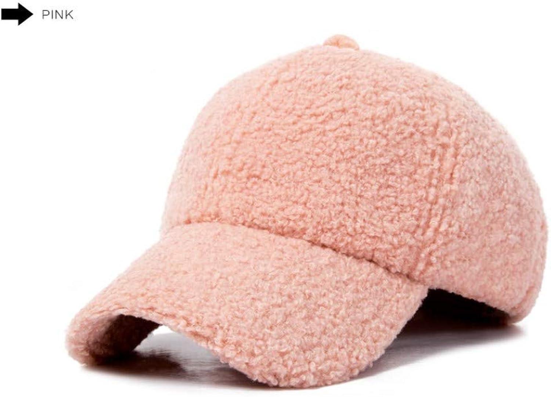 Chlally Fashion Winter Pompom Pink Suede Baseball Cap Women Autumn Casual Streetwear Cap Elegant Female Hat Caps