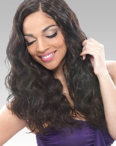 """JANET Brazilian Bundle Hair - Natural Body Weave (20""""-22"""", NATURAL DARK BROWN) by Janet Collection"""