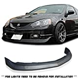 GT-Speed - MU Style PU Front Bumper Lip - Compatible With 2002-2004 Acura RSX DC5 Only