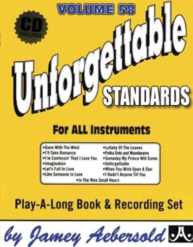Unforgettable: Standards (Jazz Play-a-long)