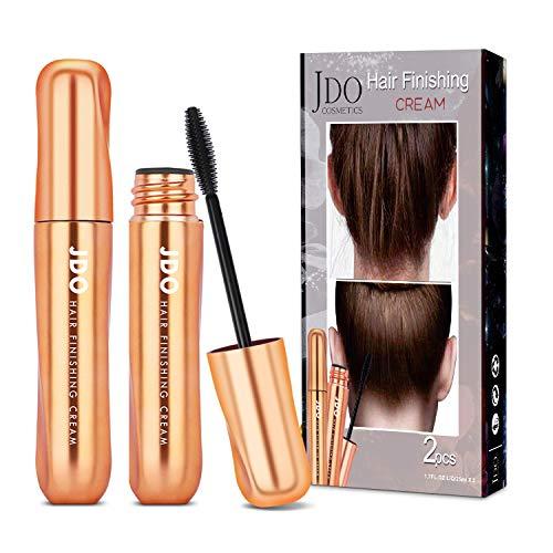 JDO Hair Finishing Stick, 2 Pack Anti Frizz Hair Flyaway Tamer-Edge Brush for Baby Hair Frizzy Hair Products Glue Spray Hair Wax Stick Hair Gel For Women- Hair Mascara Flyaway Hair Stick