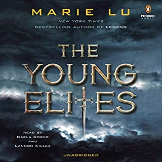 The Young Elites audiobook cover art