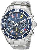 Nautica Reloj Analógico para Hombre de Cuarzo con Correa en Silicona 0656086079388