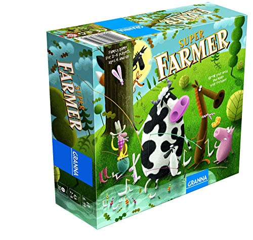 Granna Super Farmer Board Game