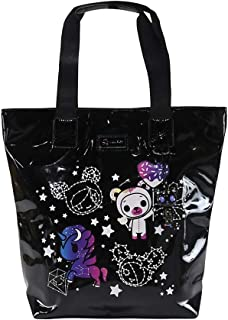 Tokidoki Galactic Dreams Shiny Vinyl Tote Bag Purse