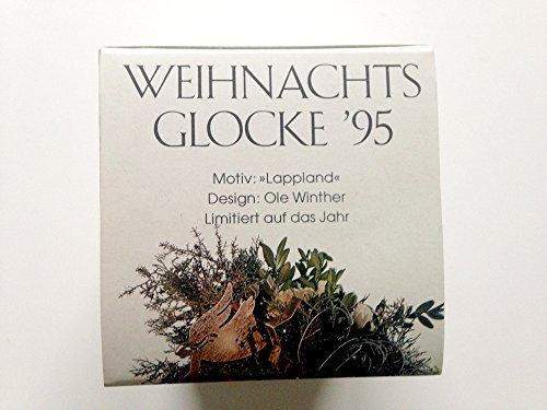 Hutschenreuther Weihnachtsglocke 1995*Rarität, Porzellanglocke, Weihnachten, Anhänger, Baumschmuck
