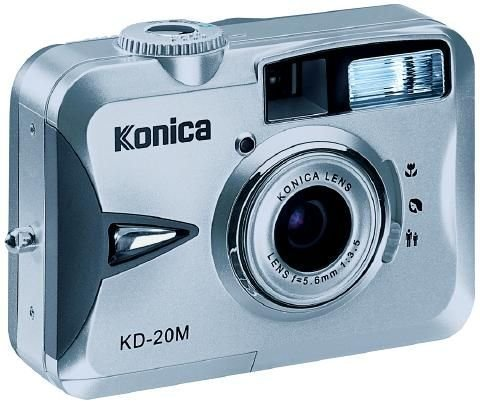 Konica KD 20 M - Cámara Digital Compacta 2.1 MP