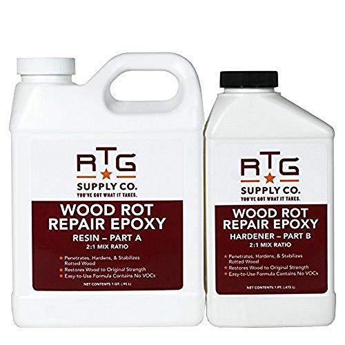 RTG Wood Rot Repair Epoxy (Quart)