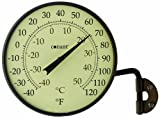 Conant Décor 4' Dial Thermometer (Bronze Patina)