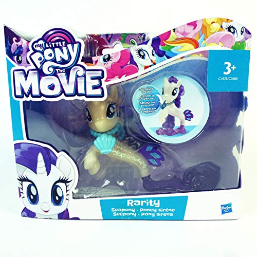 388424 My Little Pony The Movie, Rarity Seepony, Spielfiguren, Pony, Kinder Spielzeug, Geschenke