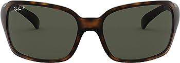 Ray-Ban RB4068 Women's Polarized Square Sunglasses