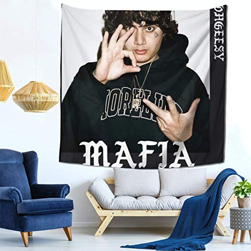 """Sherrygeoffrey Ohgeesy Mafia The Parish Tapestry Queen Size Wall Hanging Throw Homebedroom Living Room Decor in 59"""""""" X 59"""""""" Inch"""